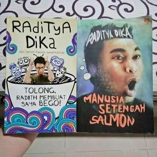 Manusia Setengah Salmon (Raditya Dika) + Bonus Raditya Dika dan Teman-Teman Sepermainan | Novel Humor Komedi Lucu Indonesia