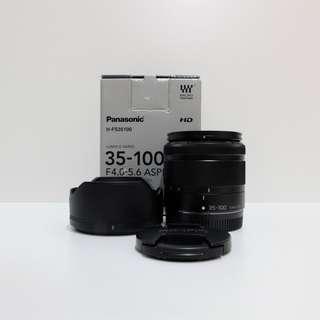 Panasonic Lumix G Vario 35-100mm f4-5.6 OIS lens