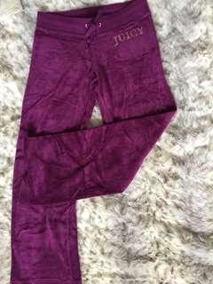 Juicy Couture Velvet pants