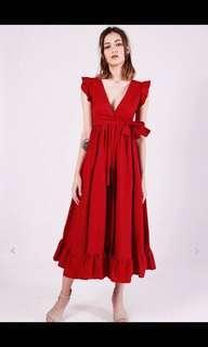 Kissablebella princess Polly ruffles dress