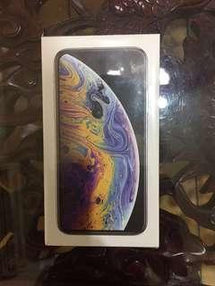 iPhone XS 64g 銀色 全新未拆封