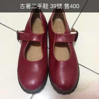 🚚 復古小紅鞋 馬丁鞋 瑪莉珍鞋 dresseum