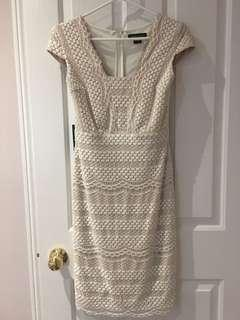 Marciano white size small dress