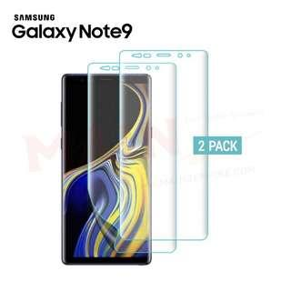 🚚 【2 PACK】Samsung Note 9 Full Coverage Screen Protector Film