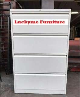 Lateral steel filling cabinet