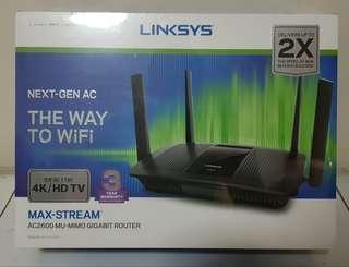 Linksys EA8100-AH MAX-STREAMAC2600 wireless router