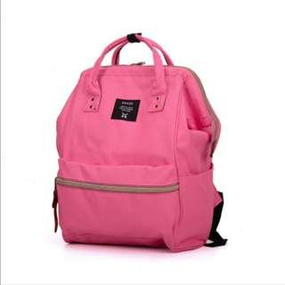 Authentic Anello Pink Classic Backpack