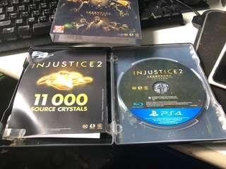 PS4 不義聯盟2⃣️ 鐵盒版