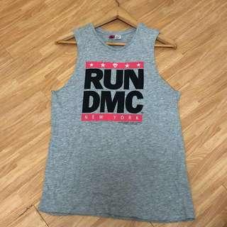 🚚 Run DMC Grey Muscle Tank Top - H&M Divided