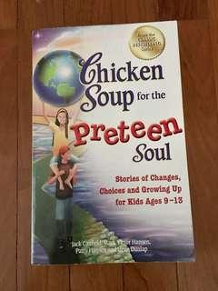 Chicken Soup for the Preteen Soul book