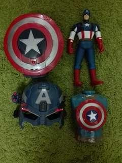 Captain America Helmet set