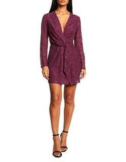 BNWT BURGUNDY LACE DRESS