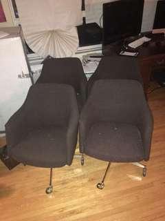 Authentic 70s retro chairs