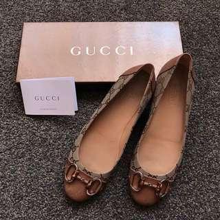 Authentic Gucci flats