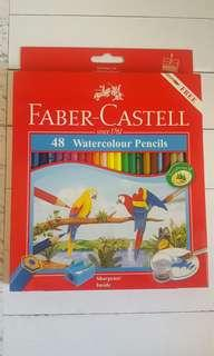 Brand new Faber Castell 48 WaterColour Pencils
