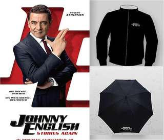 6de94ba9edb Johnny English Strikes Again Movie Premiums