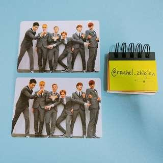 EXO GROWL EXO-M PHOTOCARD