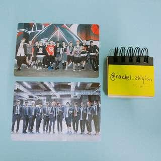 EXO GROWL POP UP STORE POSTCARD SET