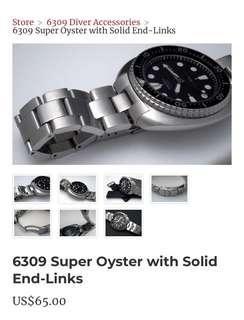 Uncle Seiko Turtle Super Oyster bracelet