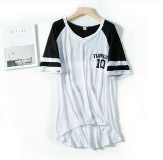 Plus size jersey tee