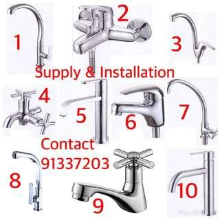 Water tap/faucet supply & Installation contact 91337203