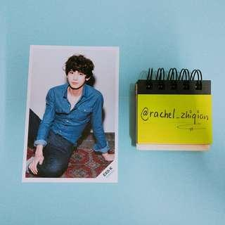 EXO CHANYEOL OFFICIAL POSTCARD