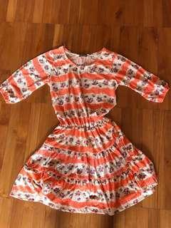 Bangkok orange dress