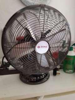 Sona antiques steel fan retro style lnib