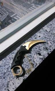 "8"" Karambit Neck Knife"