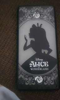 Alice in the wonderland samsung note 8 casing