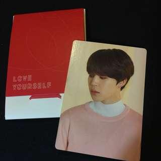 BTS LOVE YOURSELF WORLD TOUR official mini photocard 😍