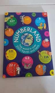 Numberland book the world in over 2000 figures and facts