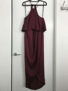 Shona Joy Halter Dress size 10
