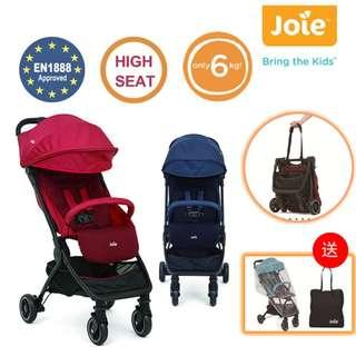 Blove 英國 Joie 嬰兒手推車 BB車 Stroller 高座位 摺疊 可摺 Pact 高坐椅便攜型手推車 #JE60037