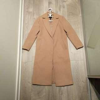 Thick Camel Coat