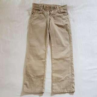 PL Zara Kids Beige Boy Long Pants