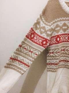 Kevas Pattern Sweater
