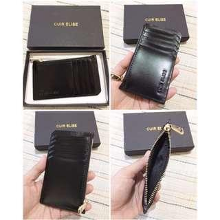 Cuir Elise card holder