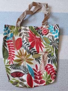 Poney Floral Tote Bag