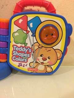 Fisher Price Teddy's Shapes and Colors!