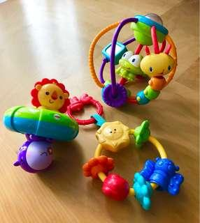 Fisher price baby toys combo