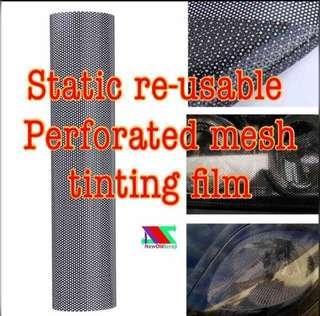 SALES ! Static film Perforated mesh