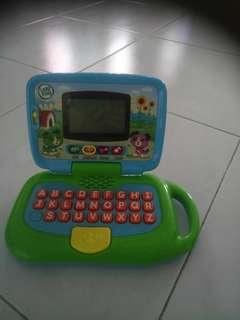 Educational laptop for toddlers
