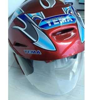 Motorcycle Helmet Yema Brand