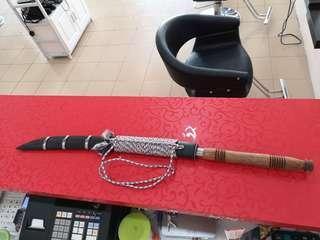 Burmese sword / pedang siam