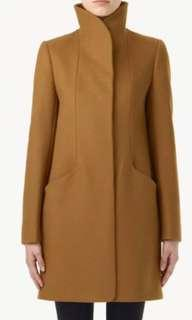 Aritzia Wilfred Wool Cocoon coat size S