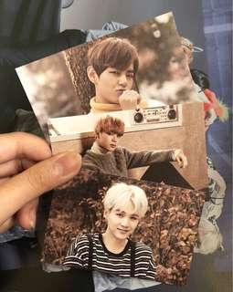 wts bts 2nd muster zip code 22920 photocards