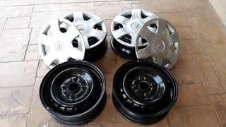 Rim Besi OEM Toyota Avanza 1.3E