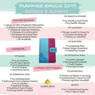 Planner enuur 2019 ( #SEPPAYDAY )