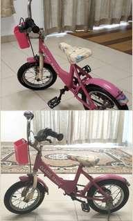 Basikal kanak-kanak bersaiz 10 inci